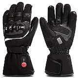 SAVIOR beheizte Handschuhe mit wiederaufladbare Lithium-Ionen-Batterie Beheizt für Männer und Frauen, arbeitet bis zu 2,5-6 Stunden (L)