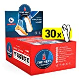 THE HEAT COMPANY Sohlenwärmer klebend - EXTRA WARM - Wärmesohlen - Fußwärmer - 8 Stunden warme Füße - sofort einsatzbereit - luftaktiviert - rein natürlich - Größe SMALL: 36-40 - 30 Paar