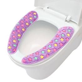 Badezimmer WC Mat Toilettensitzauflagen Wärmer / weiches Kissen,I -
