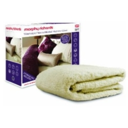 Morphy Richards 75289 MR Matratzenbezug Fleece, Super King Size Doppel 4 Heizstufen - 1