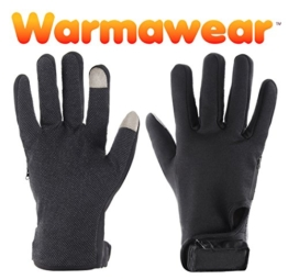 "Warmawear Beheizbare Handschuhe ""DuoWärme"" - Groß (L) -"